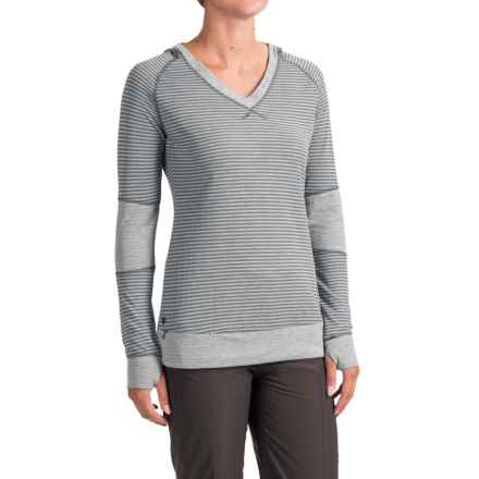 Outdoor Research Umbra Hooded Shirt - Long Sleeve (For Women) in Pewter - Closeouts