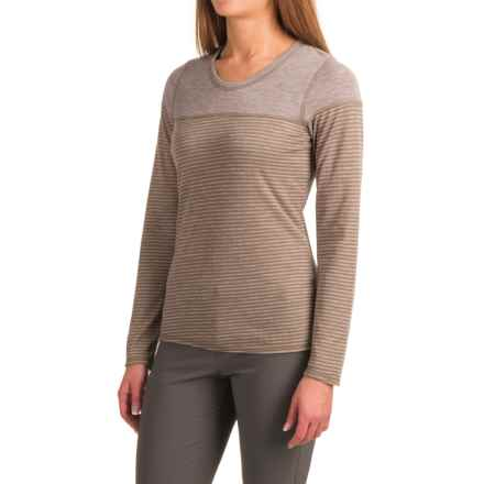 Outdoor Research Umbra TENCEL® Shirt - UPF 15+, Long Sleeve  (For Women) in Mushroom - Closeouts