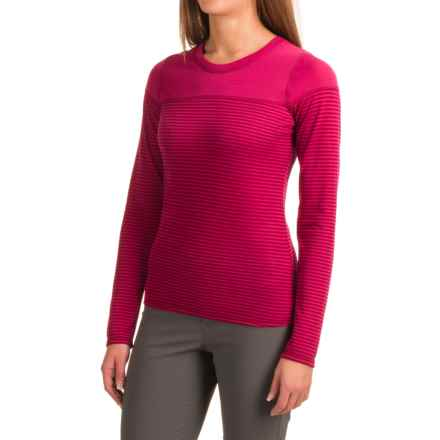 Outdoor Research Umbra TENCEL® Shirt - UPF 15+, Long Sleeve  (For Women) in Sangria - Closeouts