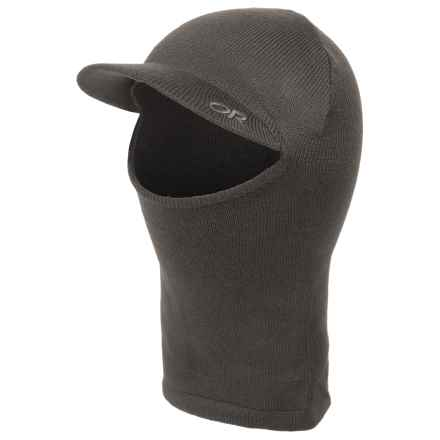 Outdoor Research Untold Balaclava (For Men) in Charcoal - Closeouts