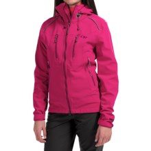 Outdoor Research Valhalla Windstopper® Jacket (For Women) in Desert Sunrise/Mulberry - Closeouts