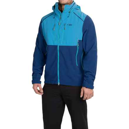 Outdoor Research Valhalla Windstopper® Ski Jacket (For Men) in Abyss/Hydro - Closeouts