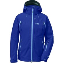 Outdoor Research Vanguard Gore-Tex® Jacket - Waterproof (For Women) in Sapphire - Closeouts