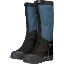 Outdoor Research Verglas Gaiters (For Men) in Marine/Black - Closeouts