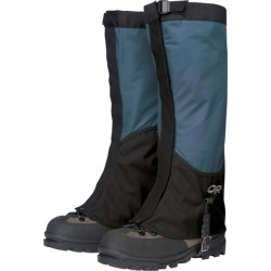 Outdoor Research Verglas Gaiters - Waterproof (For Women) in Marine/Black