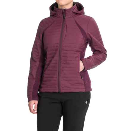 Outdoor Research Vindo Zip-Up Hoodie (For Women) in Pinot - Closeouts