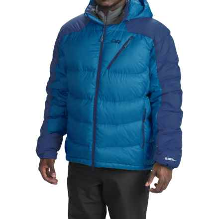 Outdoor Research Virtuoso Down Jacket - 650 Fill Power (For Men) in Glacier/Abyss - Closeouts