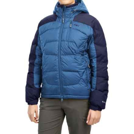 Outdoor Research Virtuoso Down Jacket - 650 Fill Power (For Women) in Cornflower/Night - Closeouts