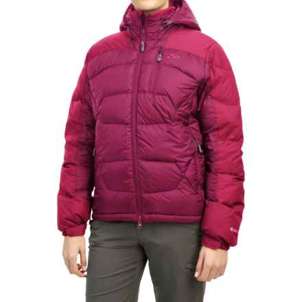 Outdoor Research Virtuoso Down Jacket - 650 Fill Power (For Women) in Sangria/Desert Sunrise - Closeouts