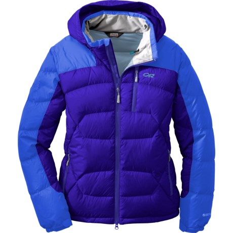 Outdoor Research Virtuoso Down Jacket - 650 Fill Power (For Women) in Sapphire/Bluebird