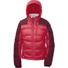 Outdoor Research Virtuoso Down Jacket - 650 Fill Power (For Women) in Trillium/Zin - Closeouts