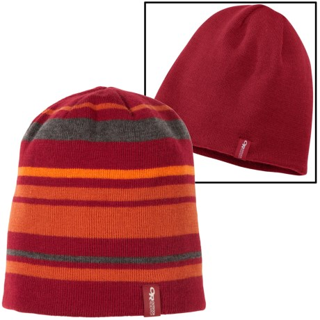 Outdoor Research Vivid Beanie (For Men) in Redwood
