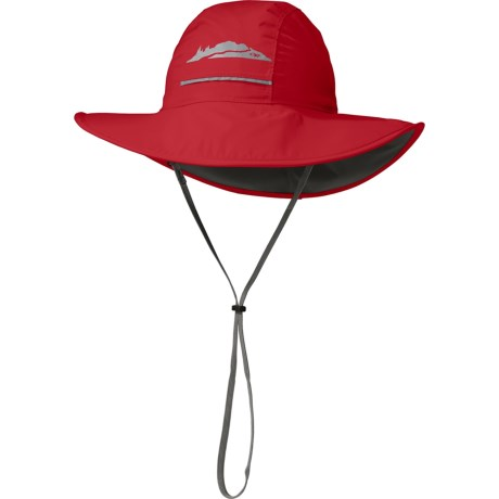 Outdoor Research Voyager Ventia Hat - Waterproof (For Kids) in Hot Sauce