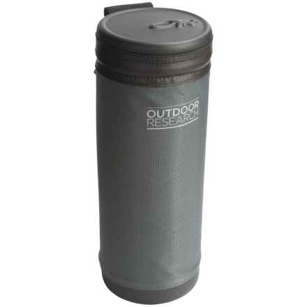 Outdoor Research Water Bottle Parka #3 in Dark Grey - Closeouts