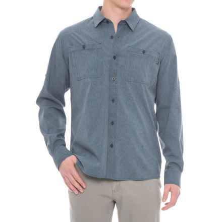 Outdoor Research Wayward Sentinel Insect Shield® Shirt - UPF 50+, Long Sleeve (For Men) in Dusk - Closeouts