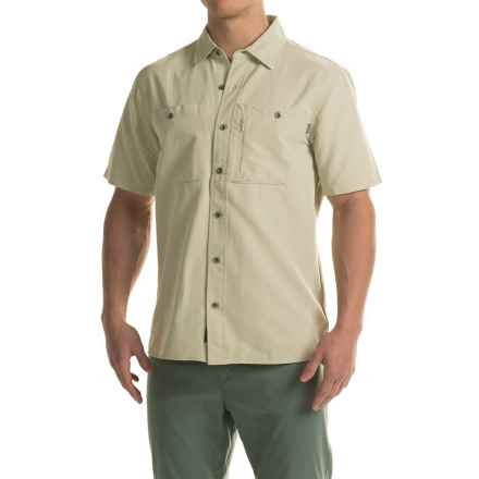 Outdoor Research Wayward Shirt - UPF 50+, Short Sleeve (For Men) in Cairn - Closeouts