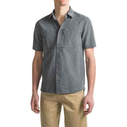 Outdoor Research Wayward Shirt - UPF 50+, Short Sleeve (For Men) in Charcoal - Closeouts