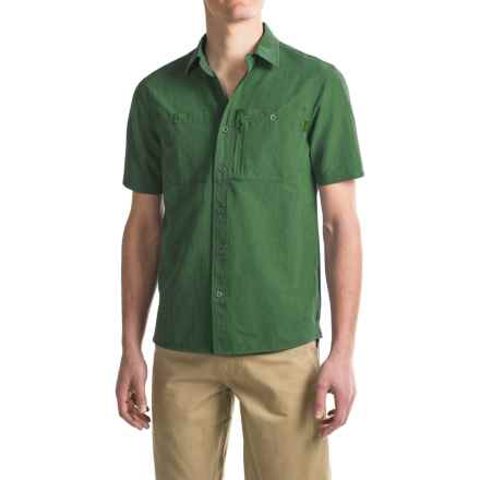 Outdoor Research Wayward Shirt - UPF 50+, Short Sleeve (For Men) in Pinon - Closeouts