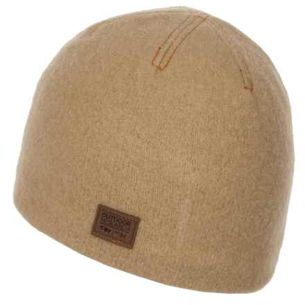 Outdoor Research Whiskey Peak Beanie - Wool (For Men) in Cafe - Closeouts