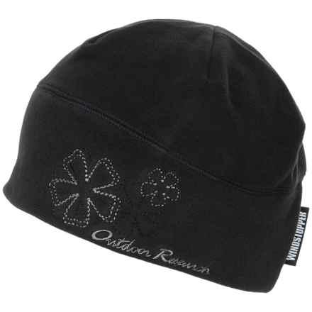 Outdoor Research Windstopper® Fleece Icecap Hat (For Women) in Black - Closeouts