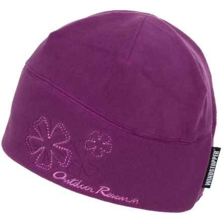 Outdoor Research Windstopper® Fleece Icecap Hat (For Women) in Orchid - Closeouts