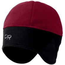 Outdoor Research Windwarrior Hat - Windstopper® Fleece (For Men and Women) in Retro Red/Black - Closeouts
