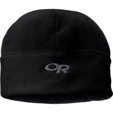 Outdoor Research Wintertrek Windstopper® Beanie Hat (For Men and Women) in Black - Closeouts