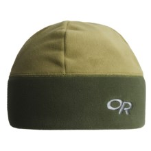 Outdoor Research Wintertrek Windstopper® Beanie Hat (For Men and Women) in Olive/Evergreen - Closeouts