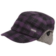 Outdoor Research Yukon Cap - Wool Blend, Ear Flaps (For Women) in Blackberry - Closeouts
