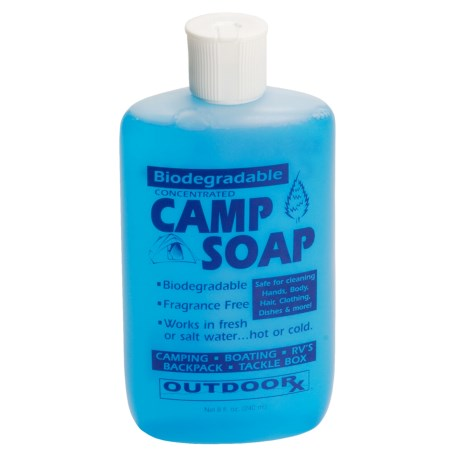 Outdoor Rx Biodegradable Camp Soap - 8 fl.oz. in See Photo