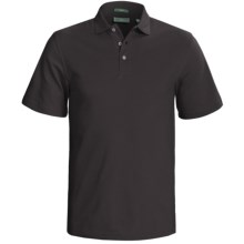 Outer Banks Cool-DRI® Performance Polo Shirt - Cotton Blend, Short Sleeve (For Men) in Black - Closeouts