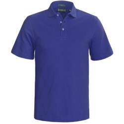 Outer Banks Cool-DRI® Performance Polo Shirt - Cotton Blend, Short Sleeve (For Men) in Cabernet