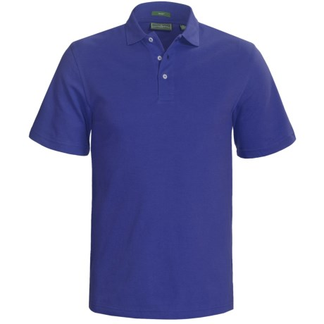 Outer Banks Cool-DRI® Performance Polo Shirt - Cotton Blend, Short Sleeve (For Men) in Navy