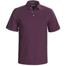 Outer Banks Cool-DRI® Performance Polo Shirt - Cotton Blend, Short Sleeve (For Men) in Cabernet - Closeouts