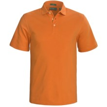 Outer Banks Cool-DRI® Performance Polo Shirt - Cotton Blend, Short Sleeve (For Men) in Orange Spice - Closeouts