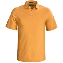 Outer Banks Cool-DRI® Performance Polo Shirt - Cotton Blend, Short Sleeve (For Men) in Pure Gold - Closeouts