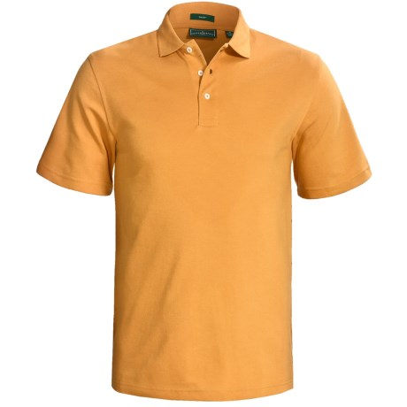 Outer Banks Cool-DRI® Performance Polo Shirt - Cotton Blend, Short Sleeve (For Men) in Pure Gold