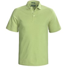 Outer Banks Cool-DRI® Performance Polo Shirt - Cotton Blend, Short Sleeve (For Men) in Spring Green - Closeouts