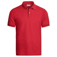 Outer Banks Jersey Polo Shirt - Short Sleeve (For Men) in Bright Red - Closeouts