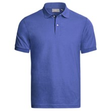 Outer Banks Jersey Polo Shirt - Short Sleeve (For Men) in Bright Royal - Closeouts