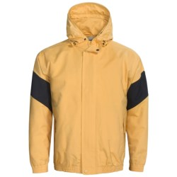 Outer Banks Navigator Sailcoth Jacket (For Men) in Pure Gold/Navy