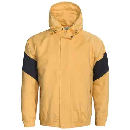 Outer Banks Navigator Sailcoth Jacket (For Men) in Pure Gold/Navy - Closeouts