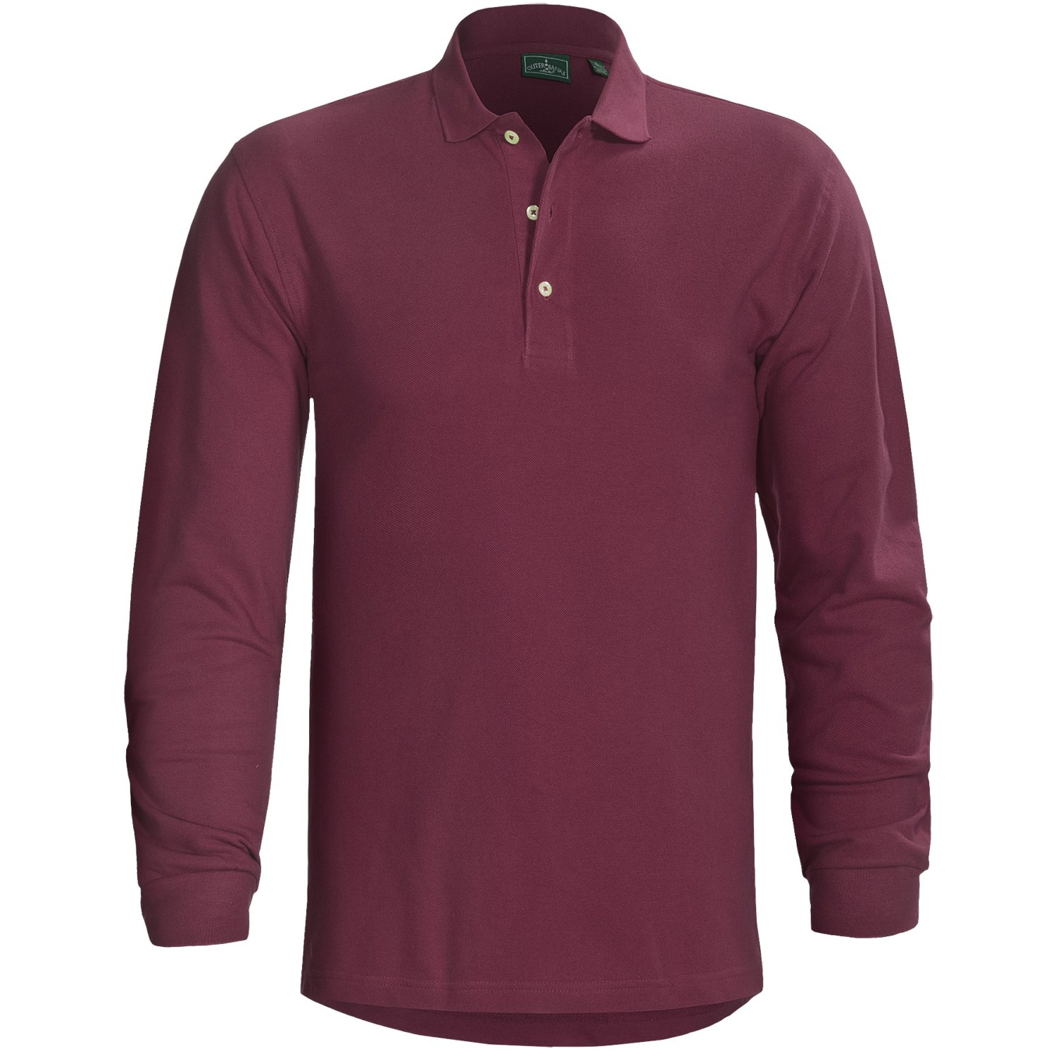 Outer Banks Ultimate Performance Polo Shirt Long Sleeve
