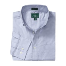 Outer Banks Ultimate Wrinkle-Resistant Dress Shirt - Cotton Oxford, Long Sleeve (For Men) in Blue - Closeouts