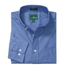 Outer Banks Ultimate Wrinkle-Resistant Dress Shirt - Cotton Oxford, Long Sleeve (For Men) in French Blue - Closeouts