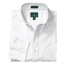Outer Banks Ultimate Wrinkle-Resistant Dress Shirt - Cotton Oxford, Long Sleeve (For Men) in White - Closeouts