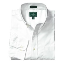 Outer Banks Ultimate Wrinkle-Resistant Dress Shirt - Cotton Poplin, Long Sleeve (For Men) in White - Closeouts