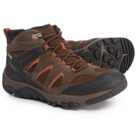 Outmost Mid Vent Hiking Boots - Waterproof (For Men)