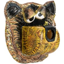 Outside Inside Bee-Dazzled Bear Birdhouse in Brown - Closeouts