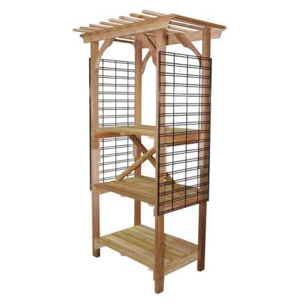 Outside Inside Freestanding Arbor in See Photo - Closeouts